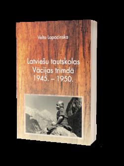 Velta Lapacinska, Latviešu tautskolas Vācijas trimdā
